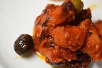 蛸とオリーブのトマト煮
