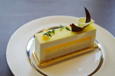 栗とレモンのケーキ